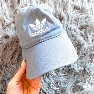 Women's adidas grey baseball hat